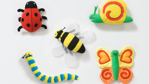 Back to Nature™ Bug Toys - Pack of 5