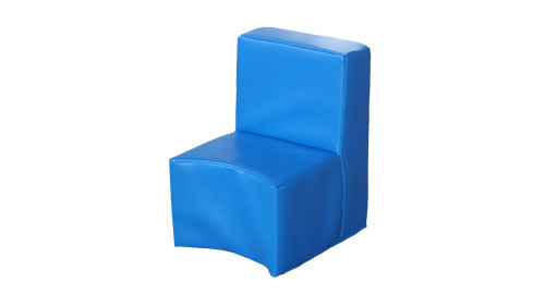 Rainbow™ Modular Seating Unit Chair - Cornflower Blue