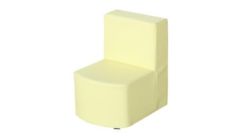 Modular Seating Unit Chair - Pale Banana