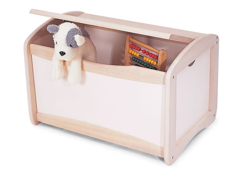 White Toy Chest