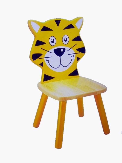 Children's Wooden Tiger Chair