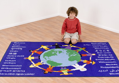 Children of the World Welcome Carpet