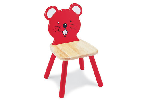 Children's Wooden Mouse Chair