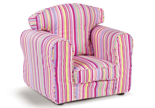 Candy Stripe Armchair