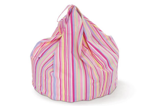 Candy Stripe Bean Bag