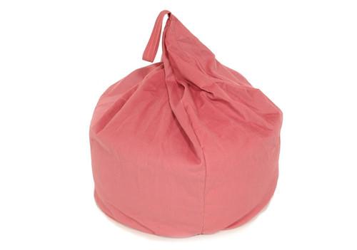 Pink Cord Bean Bag