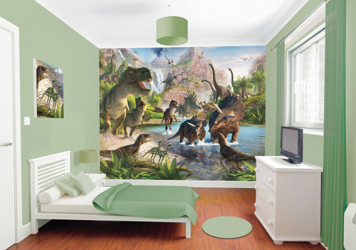 Walltastic Dinosaur Land