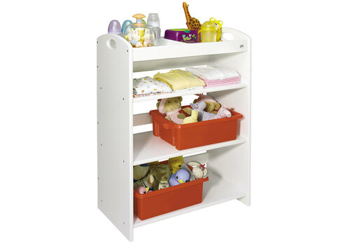 Pure White Tidy Shelves