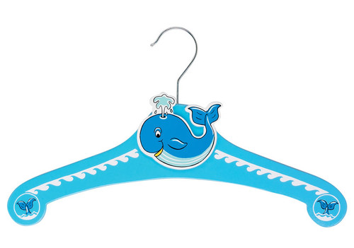 Set of 5 Whale Clothes Hangers