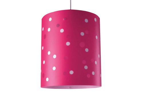 Polka Dot XL Ceiling Light- Cerise Pink