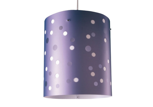 Polka Dot XL Ceiling Light- Lilac