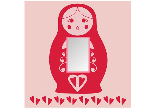 Russian Doll Light Switch Cover
