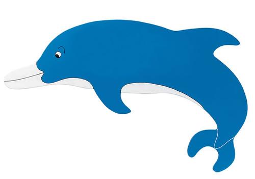 Blue Dolphin Name Plaque