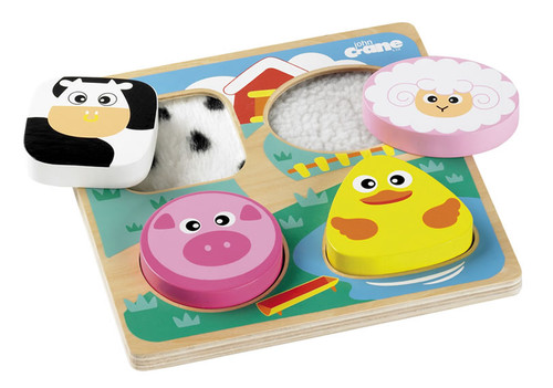 Texture Puzzle Farmyard Animals