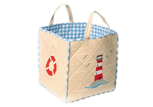 Boat House Toy Bag