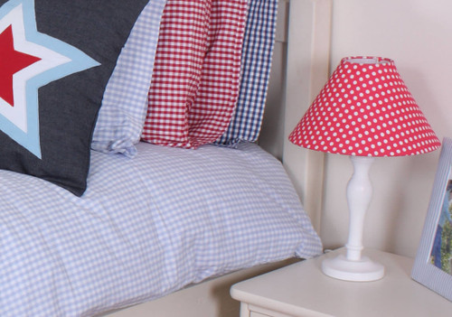 Red Polkadot Lampshade