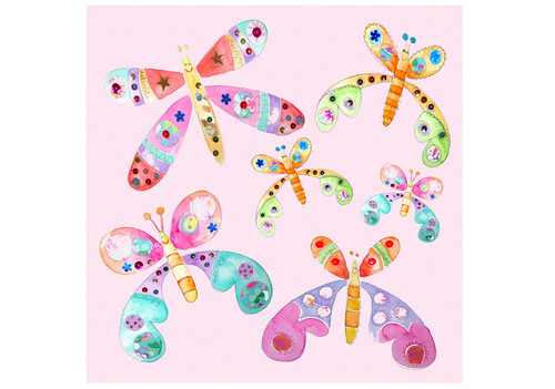 Pretty Butterflies Large Canvas