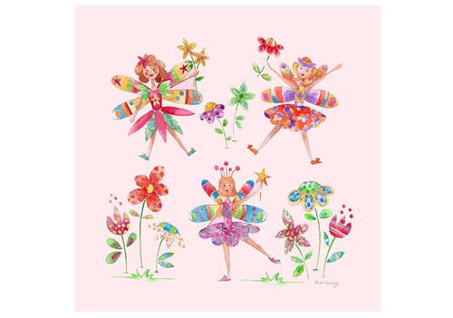 Flower Fairies Large Canvas