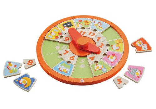 Educational Puzzle Clock