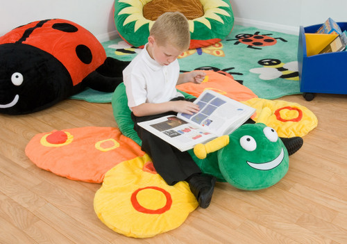 Betsy Butterfly Giant Softplay Floor Cushion