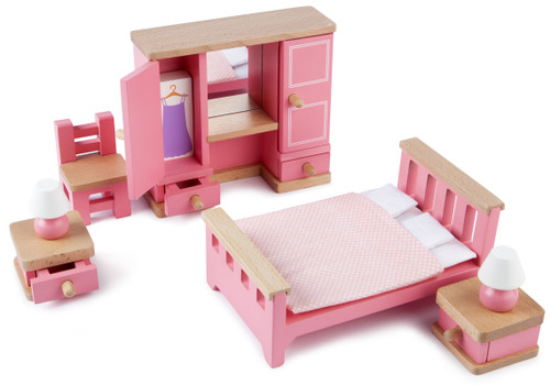 Tidlo Doll's House Bedroom Furniture