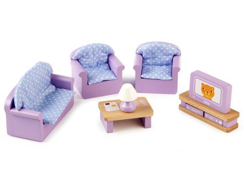 Tidlo Doll's House Living Room Furniture