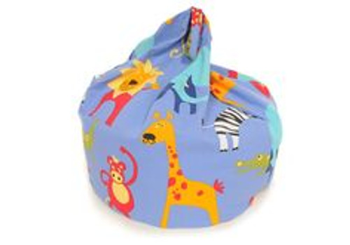 Roar Blue Bean Bag