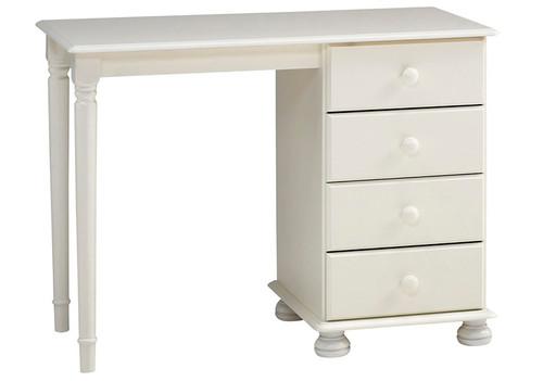 Richmond White Dressing Table, 4 Drawers