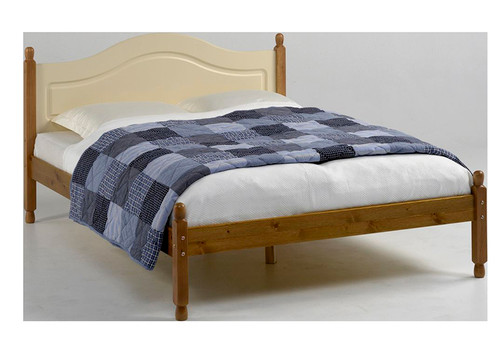 """Richmond Cream And Pine Bed Frame 4'6"""""""
