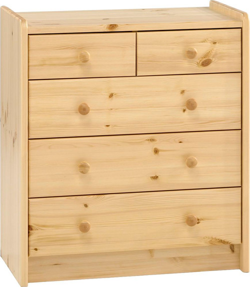Kids Rooms' Pine Chest 2+3 Drawers
