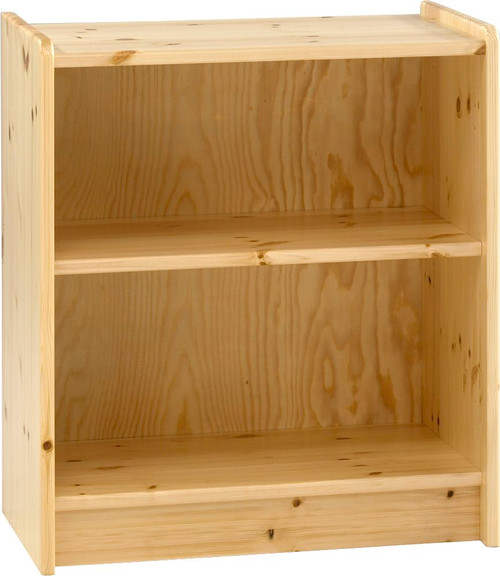 Kids Rooms' Pine Low Bookcase