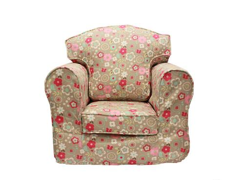 Spring Flowers Armchair