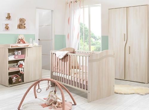 Pablo Bleached Walnut Nursery Roomset 1