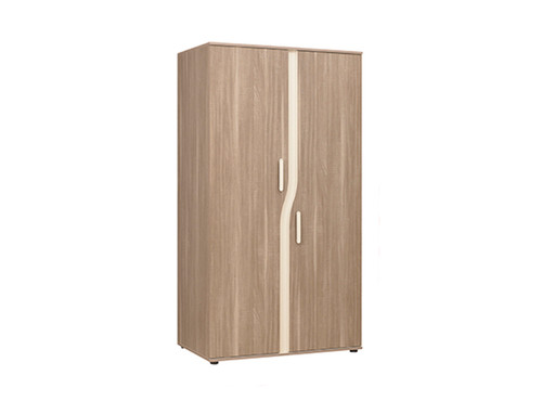 Pablo Oak Double Wardrobe
