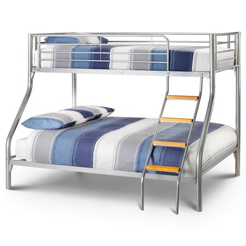 Atlas Slim Triple Aluminium Bunk Bed