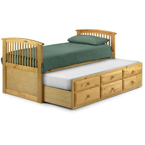 Hornblower Storage Guest Bed in Pine
