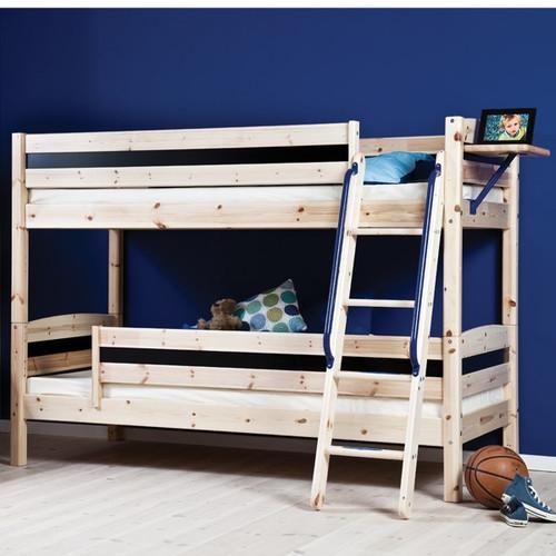 Oscar Pine Double Railed Bunk Bed