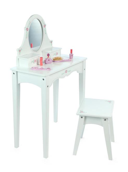 Tidlo White Flowers Dressing Table