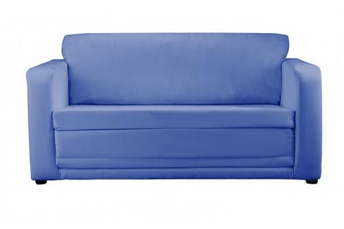 Plain Navy Sofa Bed