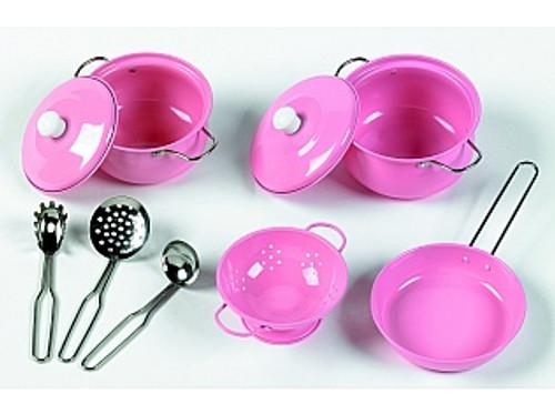 Pink Cookware Set