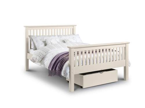 Barcelona White Pine Double Bed