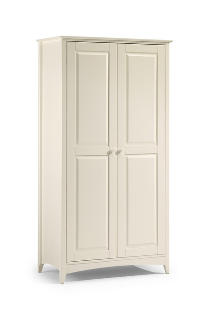 Cameo White Double Wardrobe