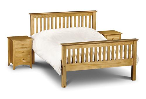Barcelona Pine Double Bed