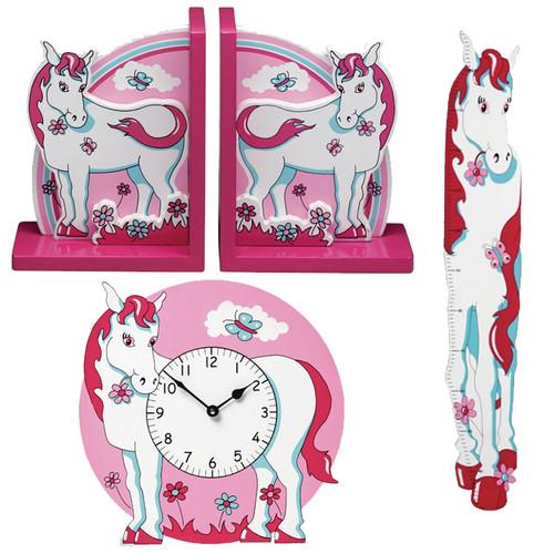 Pink Pony Room Accessories Bundle