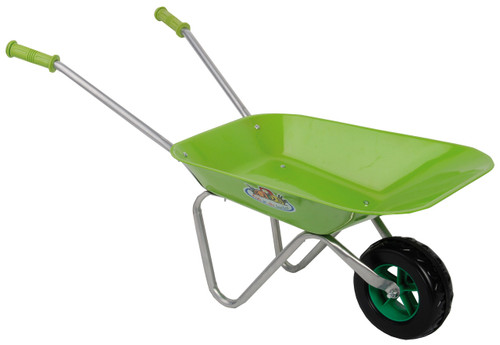 Children's Wheelbarrow in Green