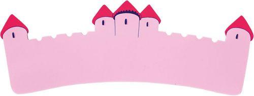 Long Pink Castle Plaque