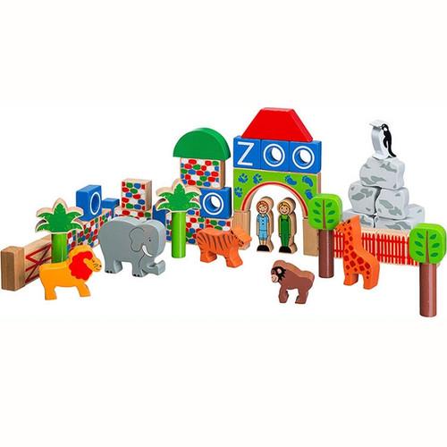 Zoo Building Blocks Set