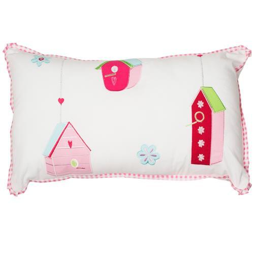 Bird House Cushion