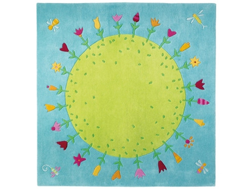 Planet of Flowers Rug