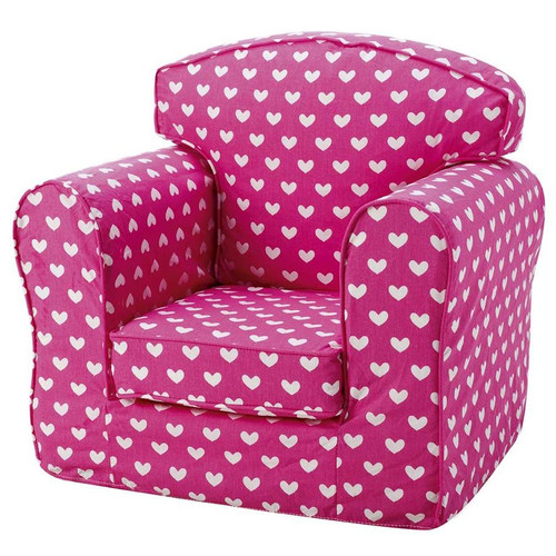 Pink Hearts Armchair